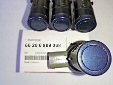 NEW! 4-Pcs. PDC Parking sensor BMW 6989068 E60,E65,X5 TOLEDO BLUE METALLIC 482