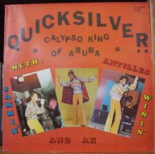 QUICKSILVER CALYPSO KING OF ARUBA HOLLAND PRESS LP FAC 1980