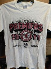 Manly Sea Eagles NRL 2011 Grand Final Premiers T-Shirt Size Small  Official