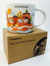 Starbucks City Mug Cup You are here Series YAH Roermond Netherlands 14oz NEW