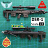 """1/6 Scale DSR-1 Sniper Rifle For 12"""" Action Figure Gun Model Weapon Soldier SWAT"""