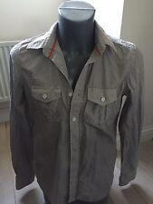 Authentic Superdry Shirt Shop Men's Meidum 100% Cotton Long Sleeve Shirt EXC