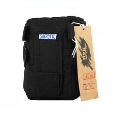 SAFROTTO E15 Padded Camera Lens Pouch Protector Bag Case Cover E-15 Black Small
