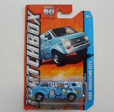 1975 Chevy WiFi REPAIR COMPANY VAN Y0720 MBX Adventure City 2013 NEW in Package!