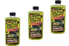 3 x Steel Seal Repairs Fix Blown Head Gasket & Blocks - For 4.0L Engines & Above