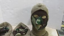 NEW COLD WEATHER KNIT CAMOUFLAGE FACE MASK HUNTING HAT CAMO USA MADE