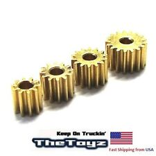 Losi Micro SCT, Rally T DT Brass Pinion 10T 11T 12T 13T Gear Set TOYZ 77