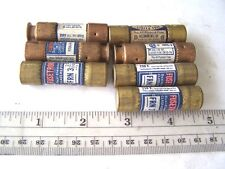 Fusetron Duel Element 3 2/10, 5 and 15 Amp Buss Fuses lot of 7
