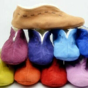 WOMAN. SPANISH SLIPPERS MOCCASIN SHOES REAL LEATHER SUEDE WARM FUR LINED UK2-UK9