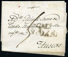 ESPAÑA PREFILATELIA CALAHORRA RIOJA A AUSEJO  1822