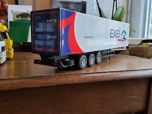 Remorque transport exel camion eligor lbs 1/43