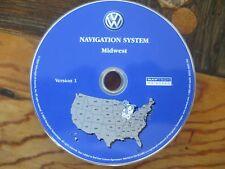 2004  VW  TUAREG  NAVIGATION SYSTEM DVD MAP VERSION 1 MIDWEST  MI  WI  IL  IN