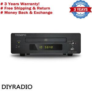 SHANLING TEMPO eC1B HIFI CD Player Home Mini DVD Player Lossless WAV Turntable#S