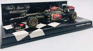 Minichamps 1/43 Lotus F1 Showcar 2013 K.Raikkonen 410130077