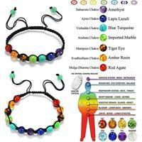 gebet gleichgewicht 7 chakra sieben farben. 8 - mm - perlen armband aurastone