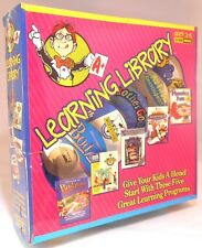 CD-ROM Learning Library Ages 3-10  Windows - New Sealed