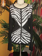 JONES NEW YORK NWT 2X $155 womens sweater zip up cardigan white black stripes