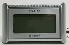 iHOME iBT230SSC Bluetooth FM Alarm Clock Radio with Speakerphone