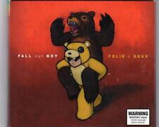 FALL OUT BOY  Folie A Deux CD - 6 bonus tracks Australian Pressing Digipak