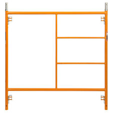 "5' x 5' Section of Yellow Heavy Duty Scaffold (c-lock) 48"" Lock Span • 1-11/16"""