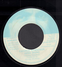 "GEORG HARRISON ‎– Ding Dong (1974 APPLE VINYL SINGLE 7"" HOLLAND)"