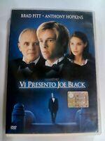 VI PRESENTO JOE BLACK BRAD PITT ANTHONY HOPKINS DVD