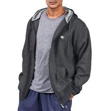 Champion Big & Tall Men's Zip Fleece Hoodie - Hanes 4x-t Granite Heather 4xt