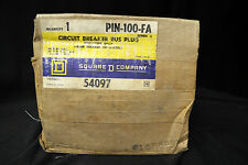 SQUARE D PIN100FA 54097 BUSWAY ~ 3-Wire with Integral Ground Bus
