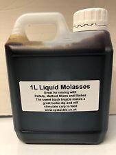 1 Litre Liquid Molasses Fishing Attractant, Bait Soak & Boilie Dip Carp Fishing