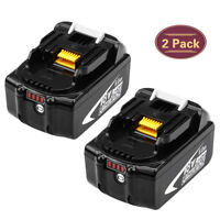 Replace for Makita BL1860B 18V Lithium-Ion Battery with Fuel Gauge BL1830 BL1860