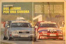 ARTICOLO SUPERTURISMO AUDI - ALFA ROMEO  - -  1996