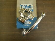 NOS OEM Ford 1965 1966 1967 Galaxie Sedan Rear View Mirror Bracket Chrome Trim