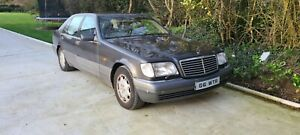 Mercedes W140 S600 v12 barn find spares or repair