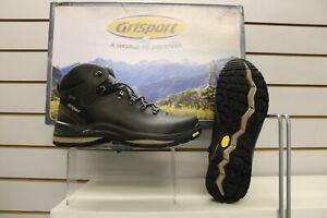 Grisport Saracen Dark Green Leather Waterproof Walking Trail Boots UK 10.5 EU 45