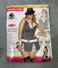 Sexy Mafia Girl Costume & accessories (Plus Size)