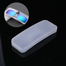 Sunglasses Case Glasses Box PVC Clip On Protector Goggle Eyewear Accessories
