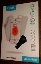 IPhone SE 5 s 5-Starter Pack-Housse Gel, Protection écran & en-Chargeur voiture