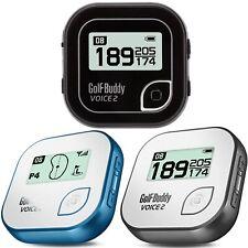 Nuevo Golf Buddy voz 2 hablando Telémetro Golf GPS-Negro