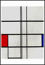 Piet Mondrian Kunstkarte Postkarte nicht signiert
