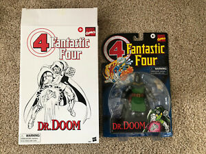 Hasbro Marvel Legends Dr. Doom Fantastic Four Classic Retro NO Books Accessories