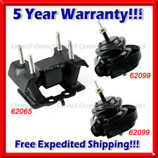 M214 Fits 2006-2013 Lexus GS300/ IS250/ IS350, 2WD AUTO, Motor & Trans Mount Set