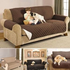 Waterproof Sofa Couch Covers Slip Slipcover Pet Protector 1 2 3 Seater Lounge