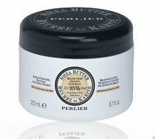 PERLIER 25% SHEA BUTTER WITH APRICOT EXTRACT INTENSIVE BODY BALM 6.7 oz. SEALED
