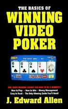 Basics Of Winning Video Poker (Basics Series (New York, N.Y.).) by J. Edward A..