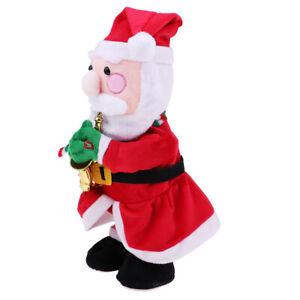 2018 Christmas Plush Doll Singing &Twisting Christmas Santa Claus Xmas Gift