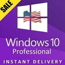 32/ 64bit Genuine License Key Product Code-Windows 10 Pro Professional