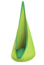 Green LA Siesta Joki Planet Hanging Crows Nest Kids Hammock Swing POD Seat