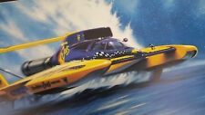 """Kenny Youngblood 18""""X25"""" poster art of Smokin' Joe's Camel Unlimited Fuel Hydro"""