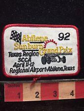 TX ABILENE SUNBURN GRAND PRIX ABILENE REGIONAL AIRPORT 1992 CAR RACE PATCH 75X4