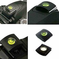 2pcs Hot Shoe Bubble Spirit Level Cover Cap For Canon Nikon Pentax DSLR Cam I0R7